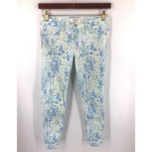 Abercrombie Fitch Floral Printed Skinny Jeans 4